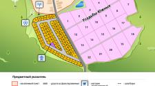 Общий генплан участков у д.Шишово (ИЖС+сельхоз усадьбы)