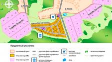 Общий генплан участков у д.Сиуха (ИЖС+сельхоз усадьбы)